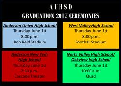 2017 Graduation Ceremonies