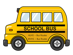 Your AUHSD Bus Routes