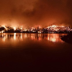 Picture of CARR Fire.