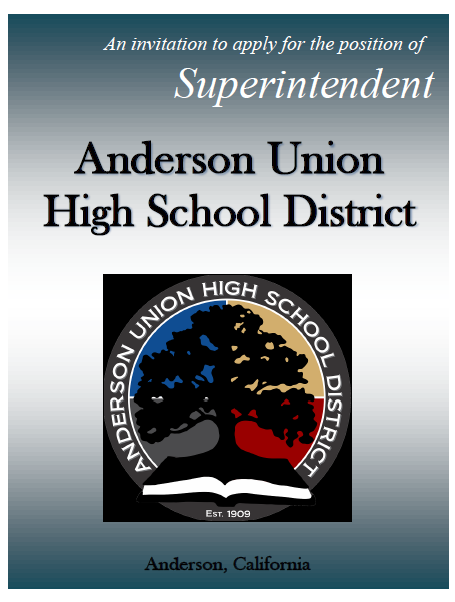 Flyer to Apply for Superintendent Position