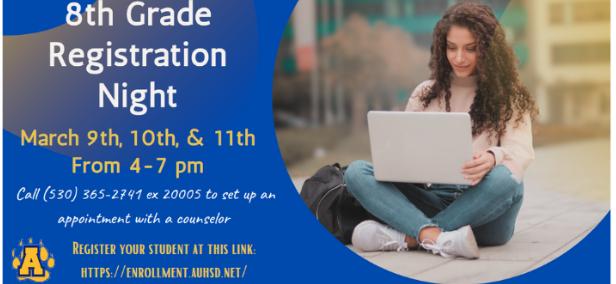 8th Grade Registration Night