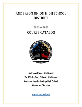 2021-22 Course Catalog