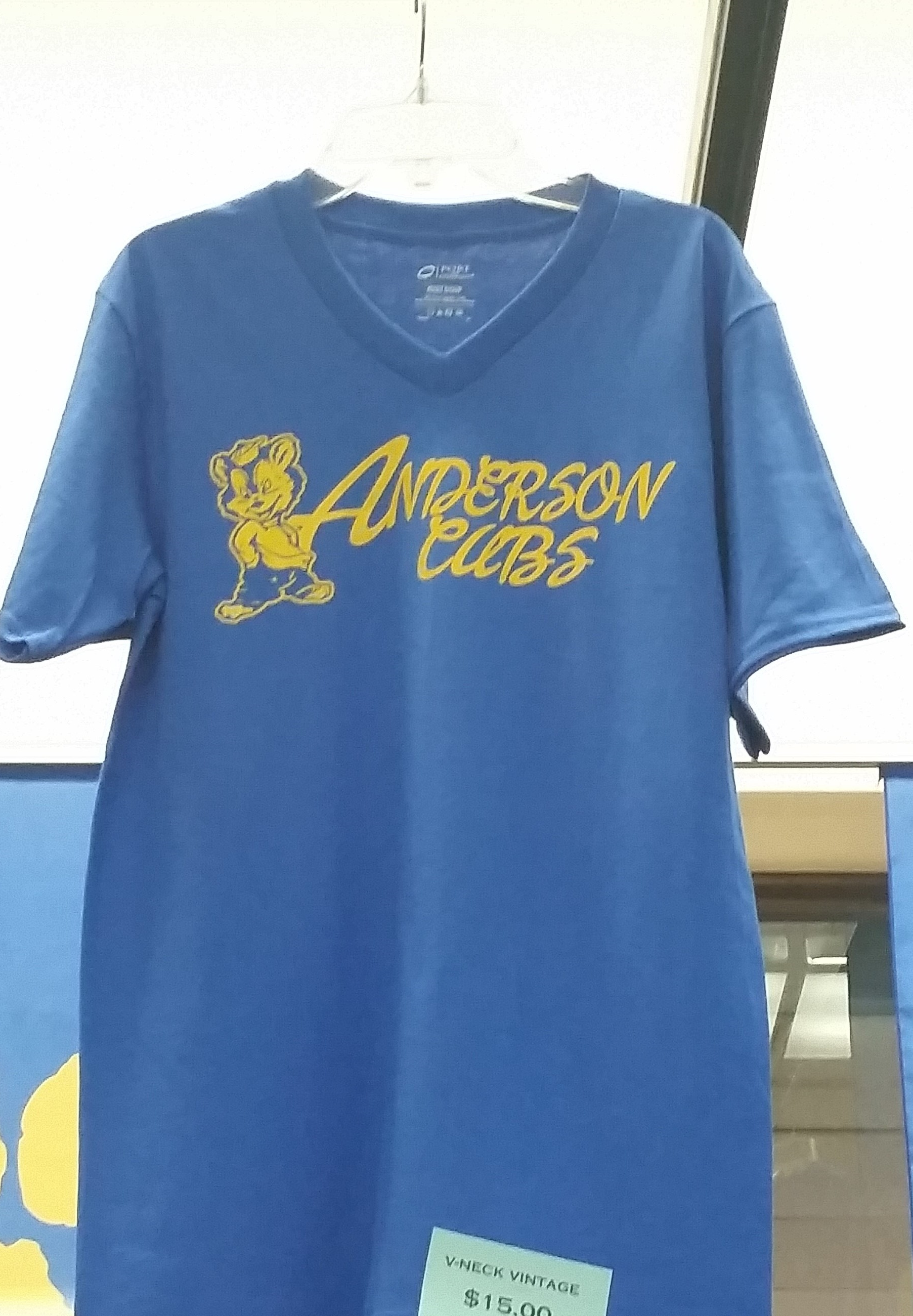 Anderson Cubs V-Neck T-Shirt