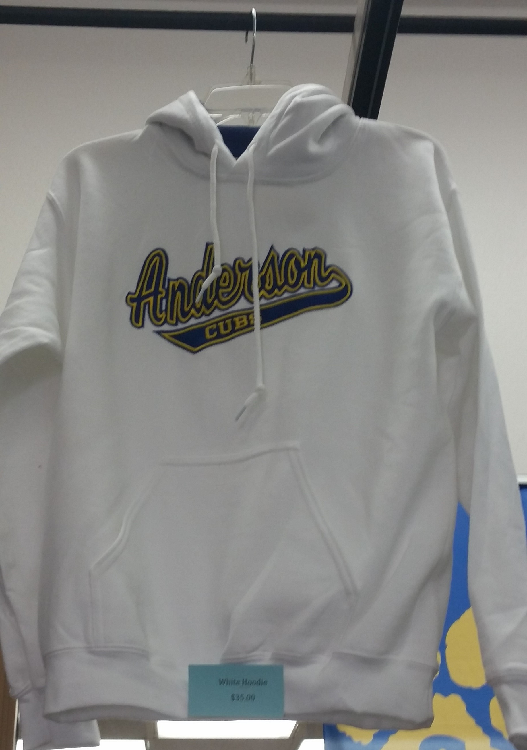 Anderson Cubs Sweatshirt - White