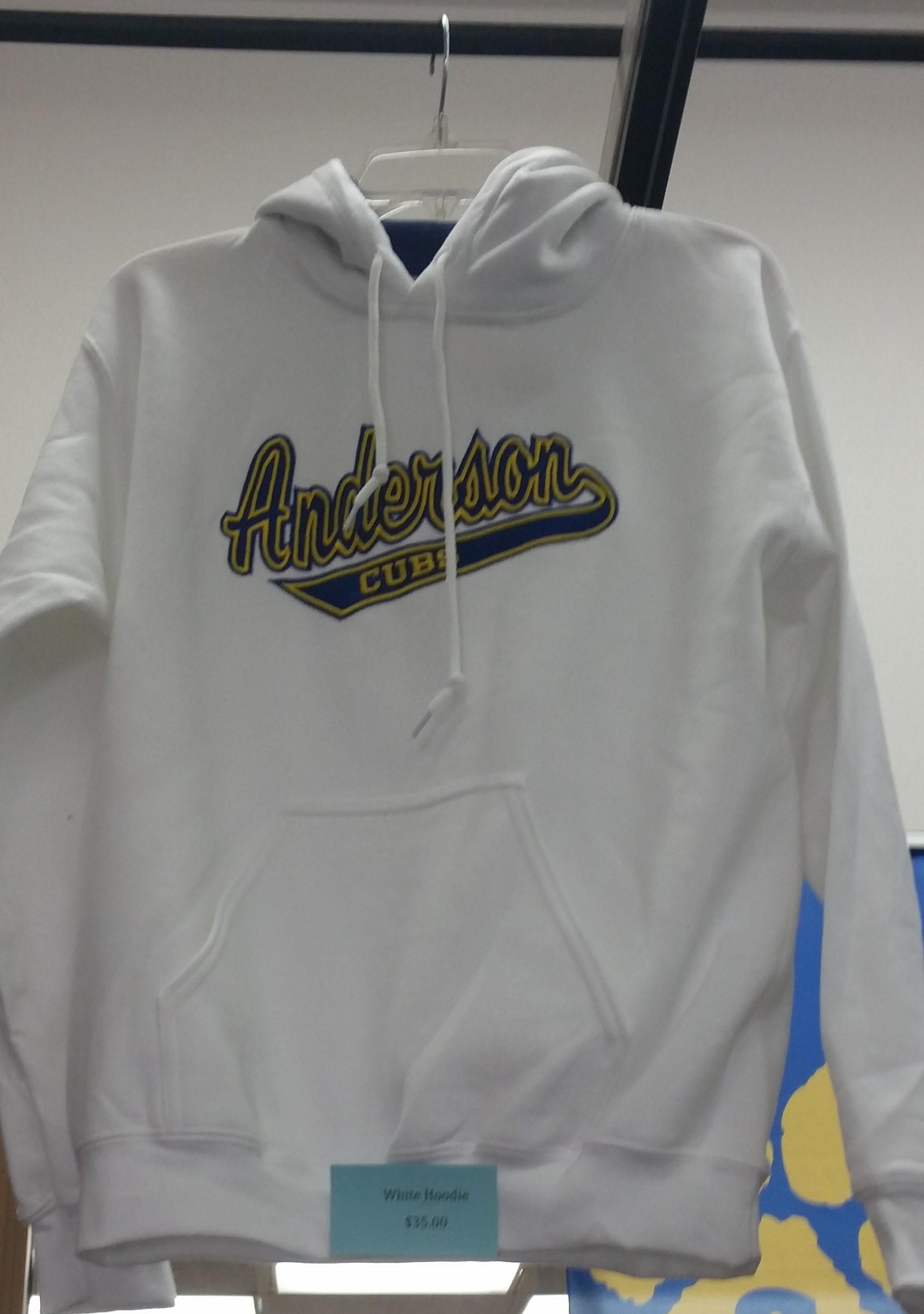 Anderson Cubs Sweatshirt - White