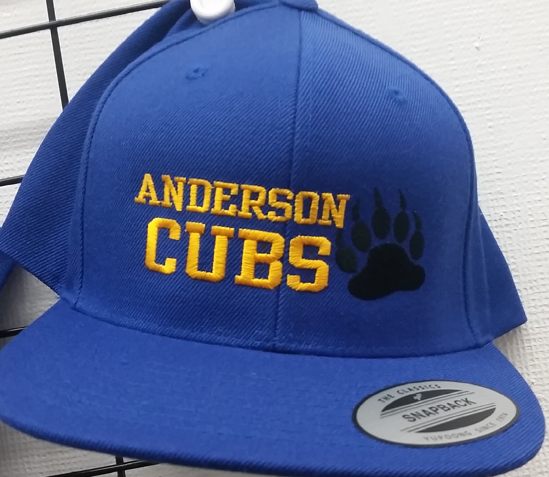 Anderson Cubs Baseball Hat - Blue