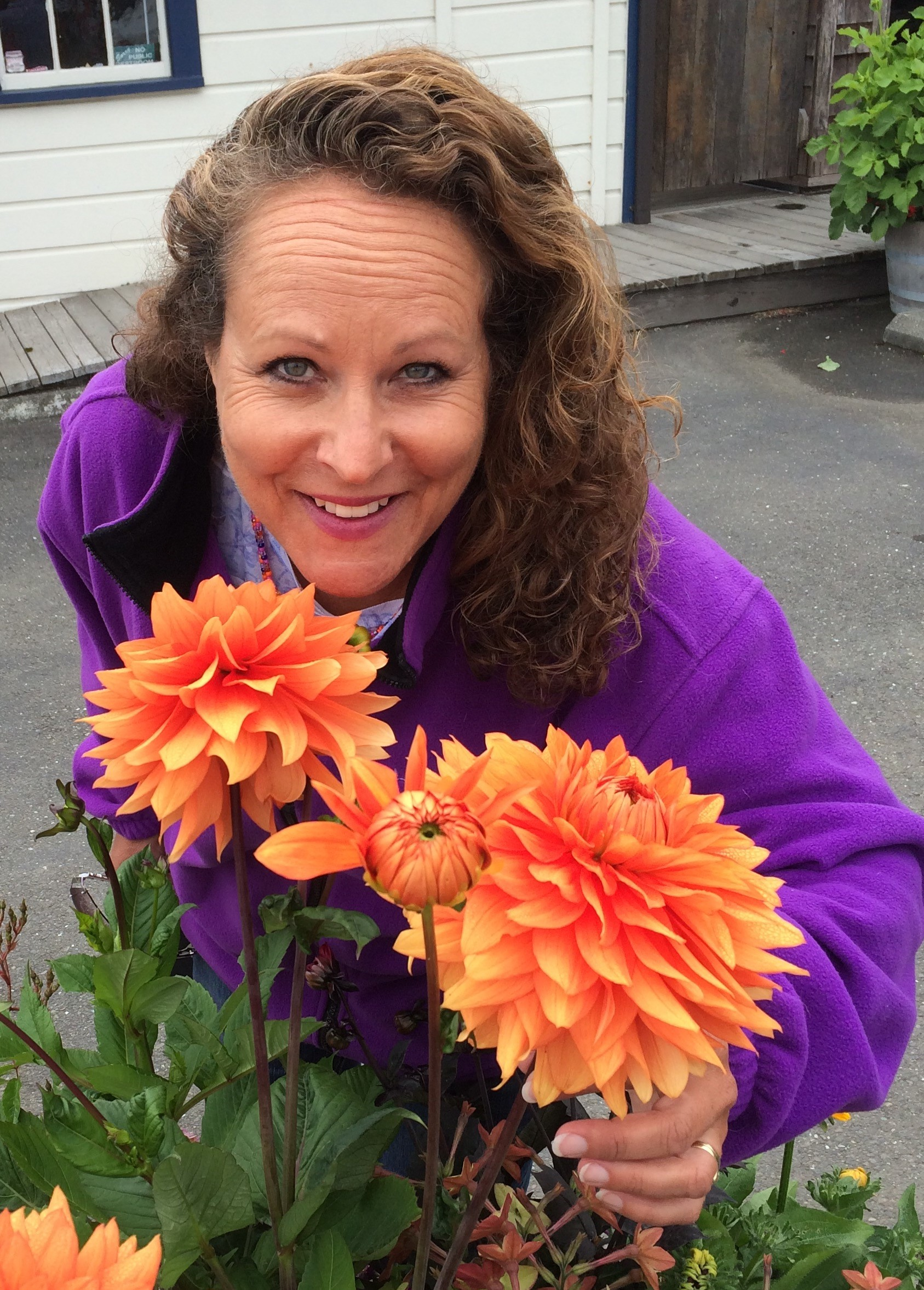 Michelle Boydstun and Flowers