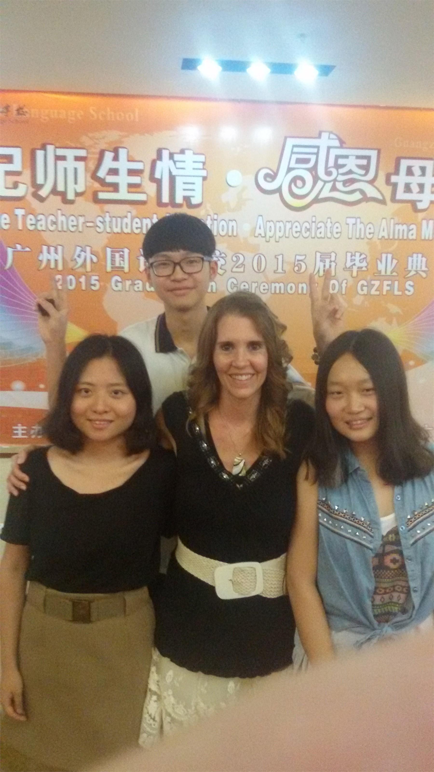 Tamara Pemberton and friends