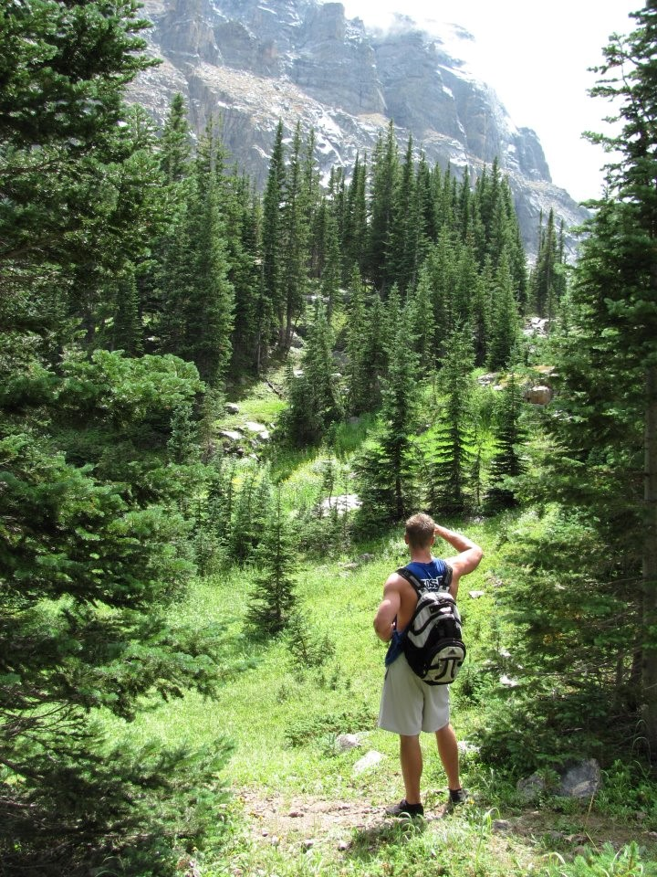 Justin C Hiking