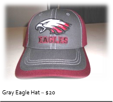 Gray Eagles Hat