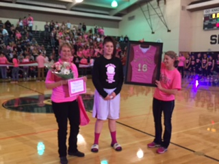 Cheryl Woodman~Pink Out Honoree