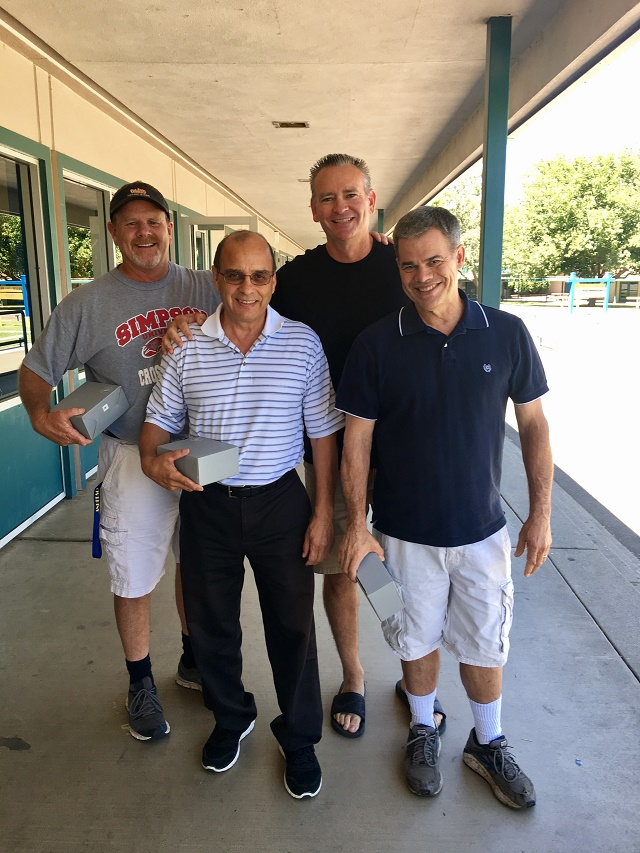 Tim Klaiber, Isaac Ortiz, Jeff Osborn and Steve Main