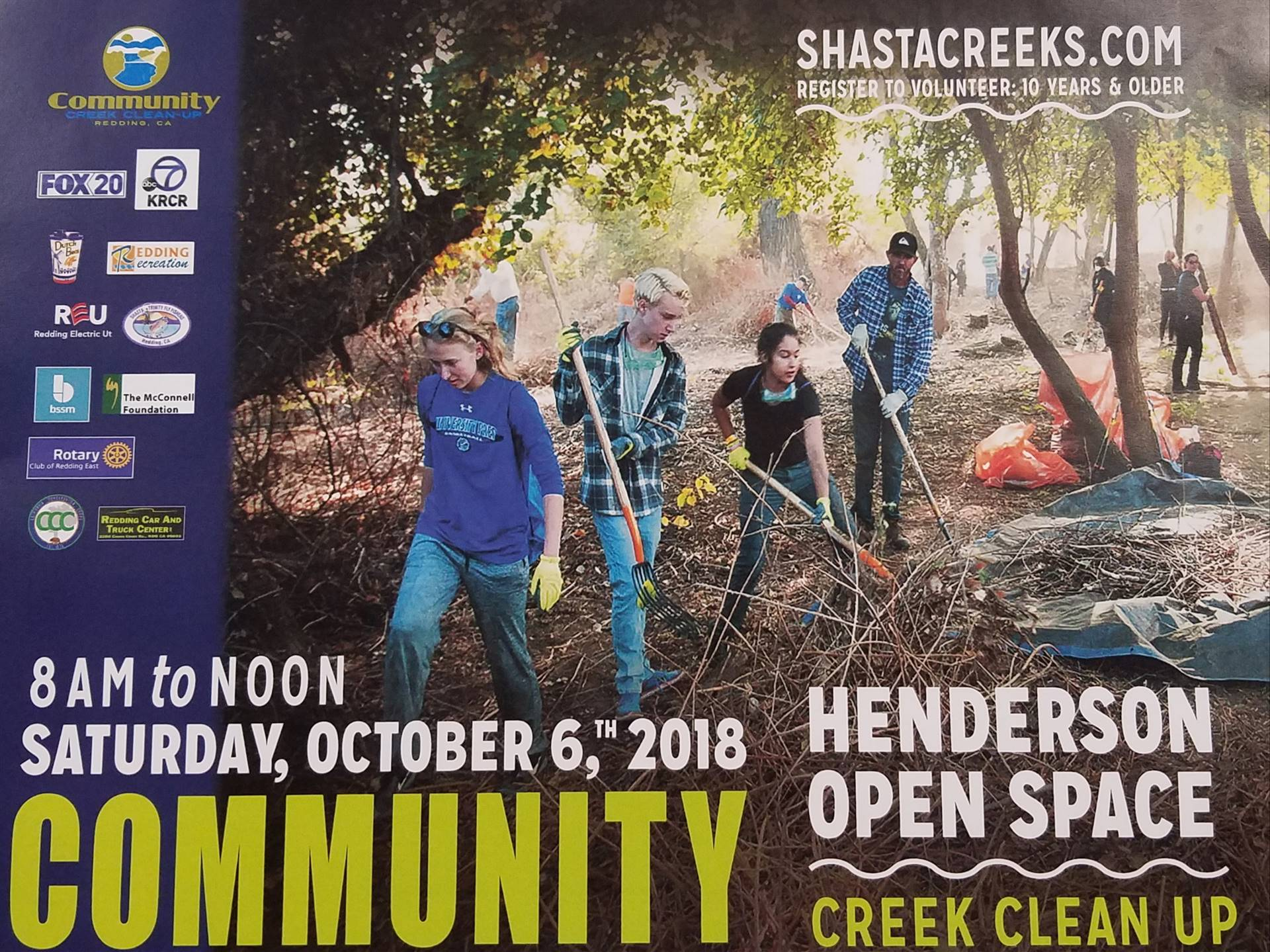 Creek Cleanup