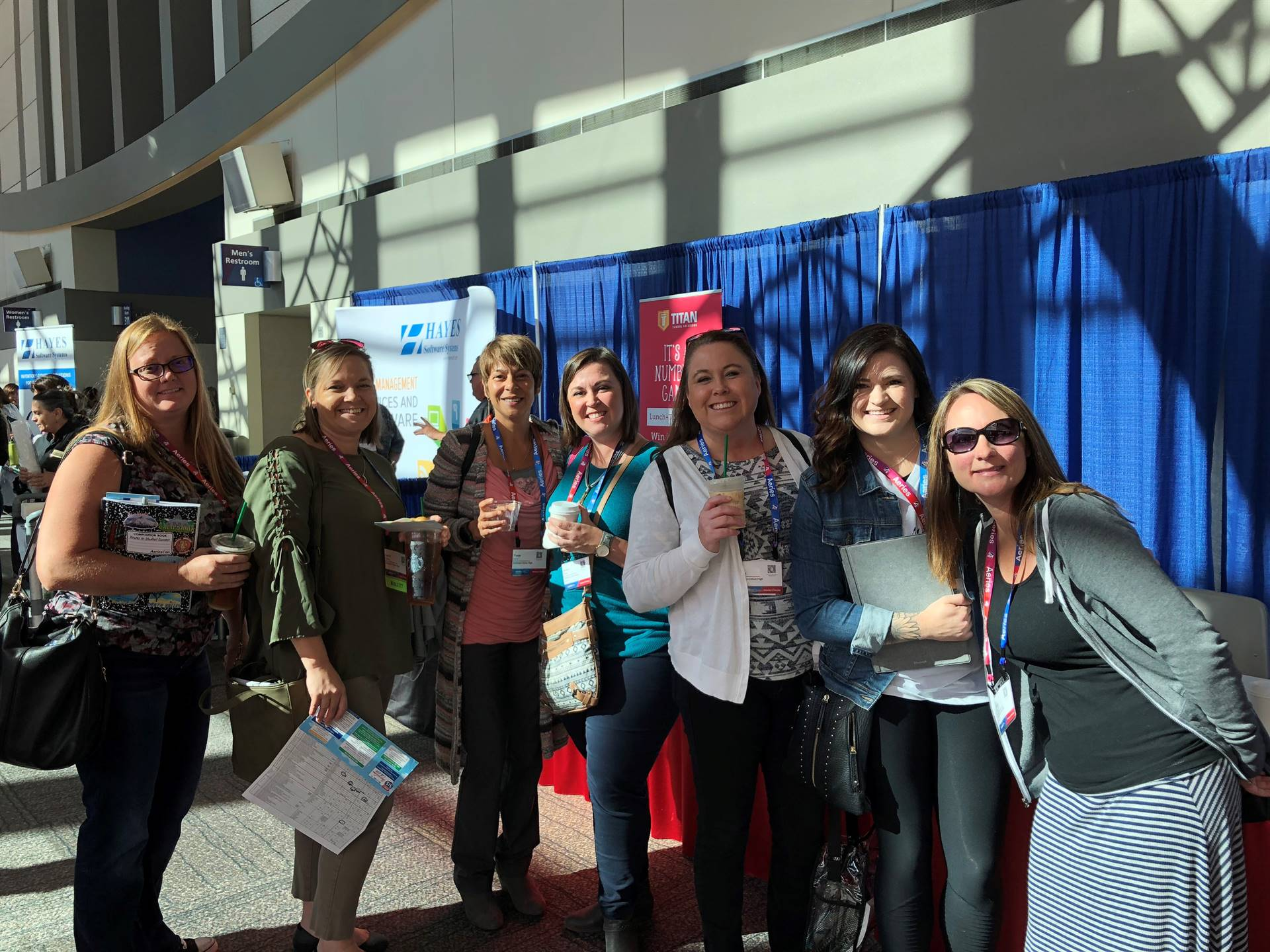 AUHSD Staff at the 2018 AERIES Conference