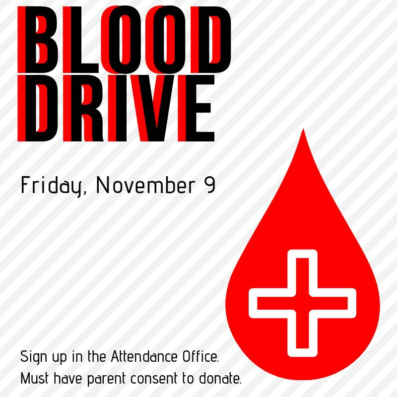 Blood Drive November 9