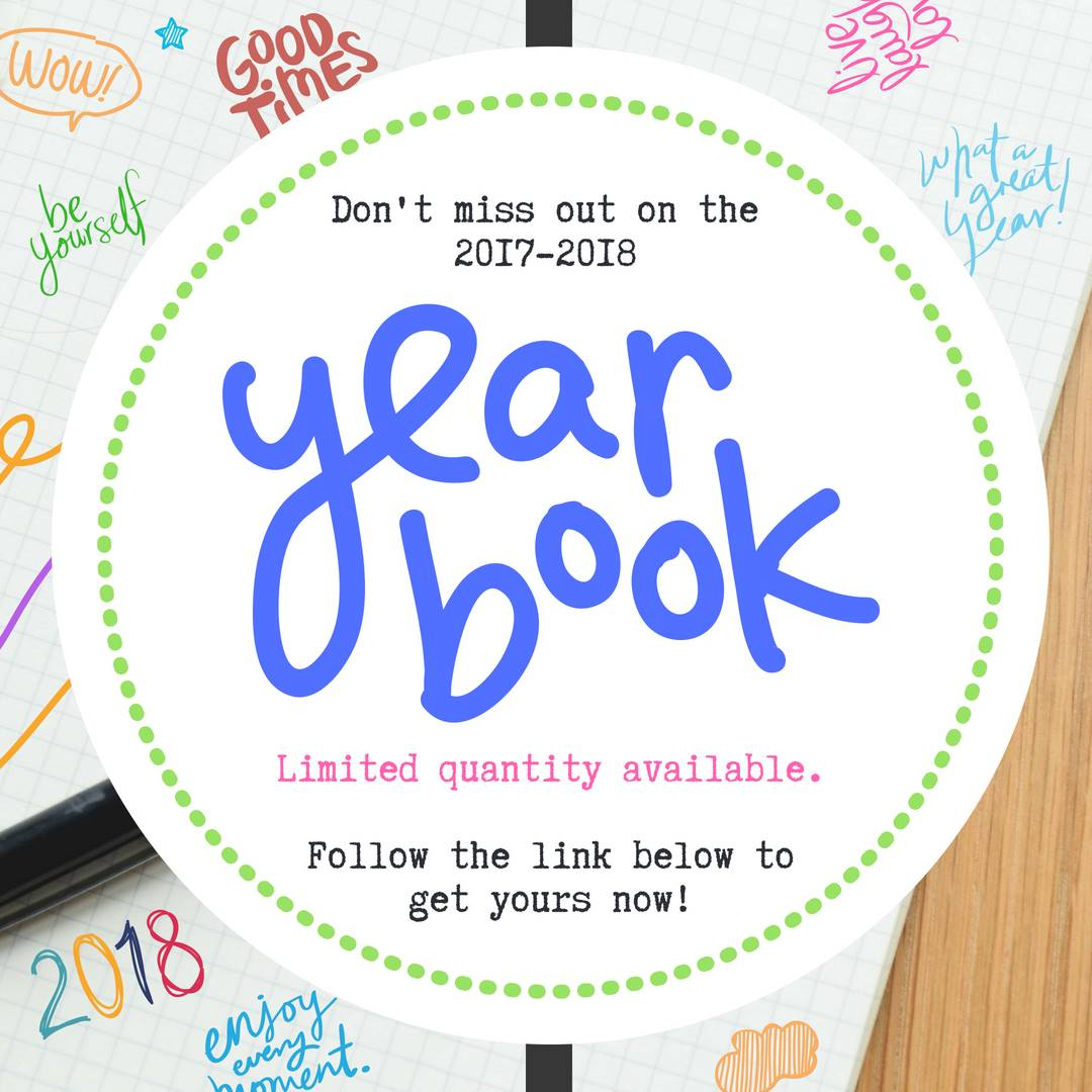 Get your yearbook now!