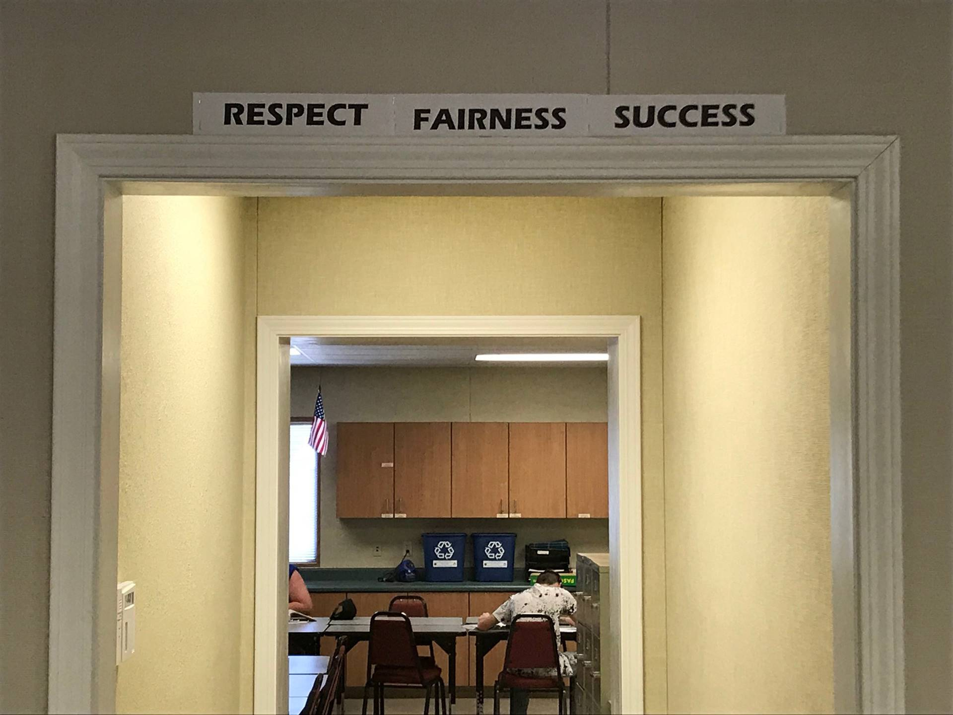 Respect Fairness Success