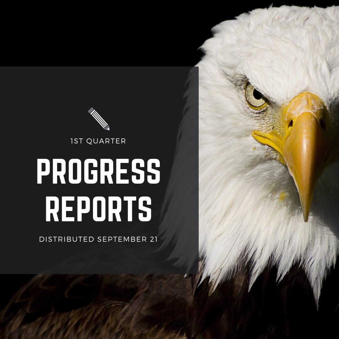 Progress Reports September 21