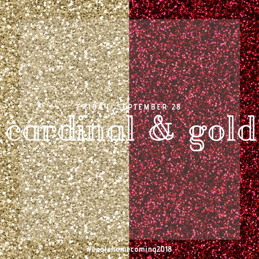 Friday: Cardinal & Gold