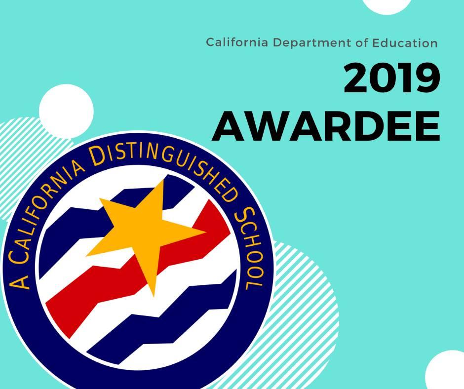 California Distinguished School 2019