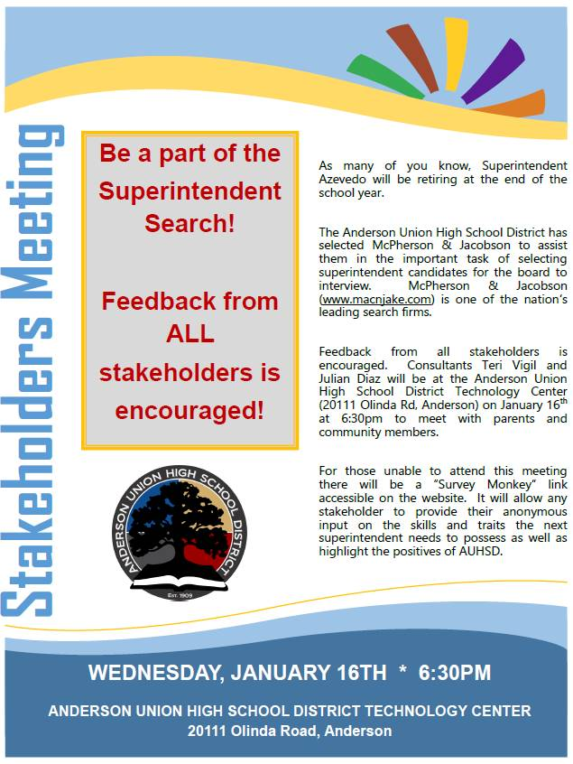 Stakeholders Flyer