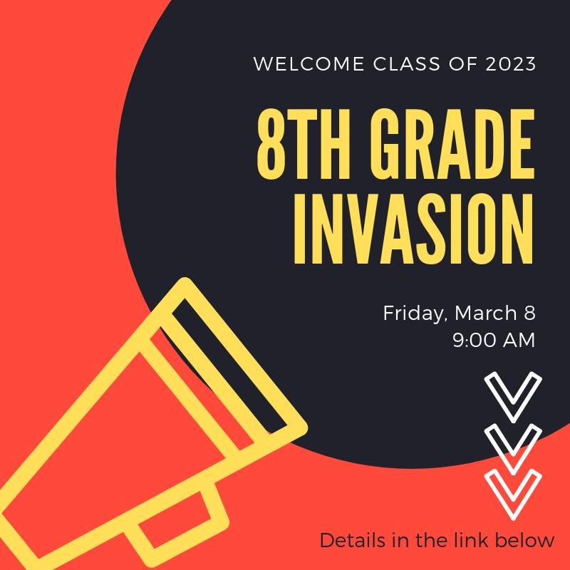 8th Grade Invasion