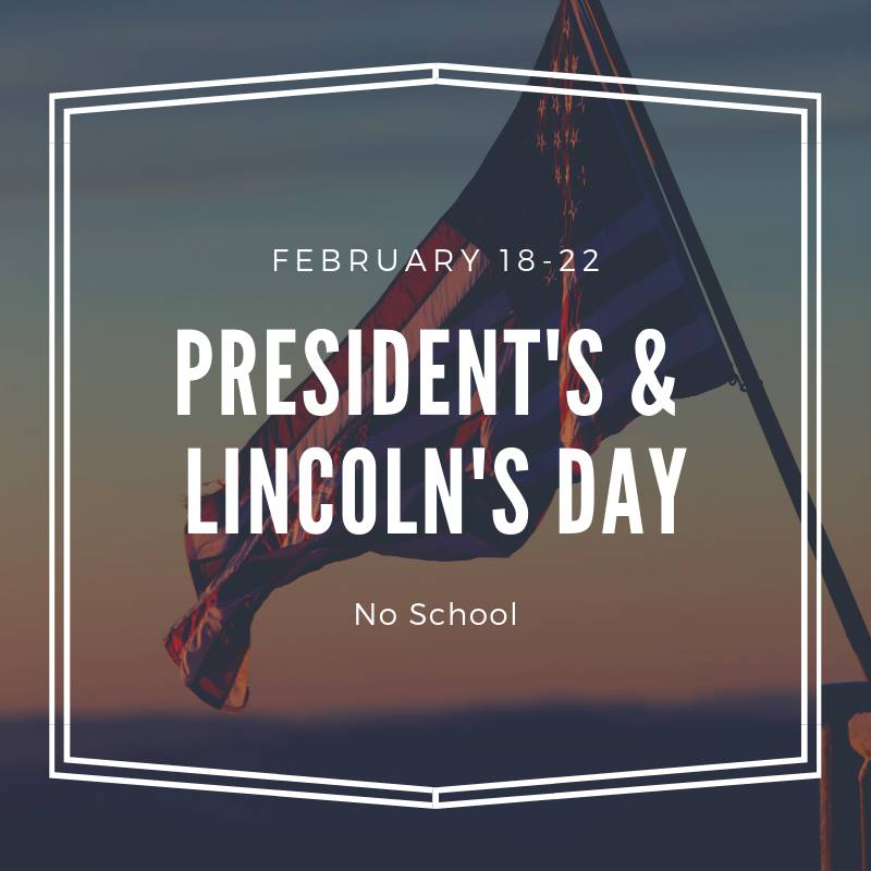 Presidents/lincolns day