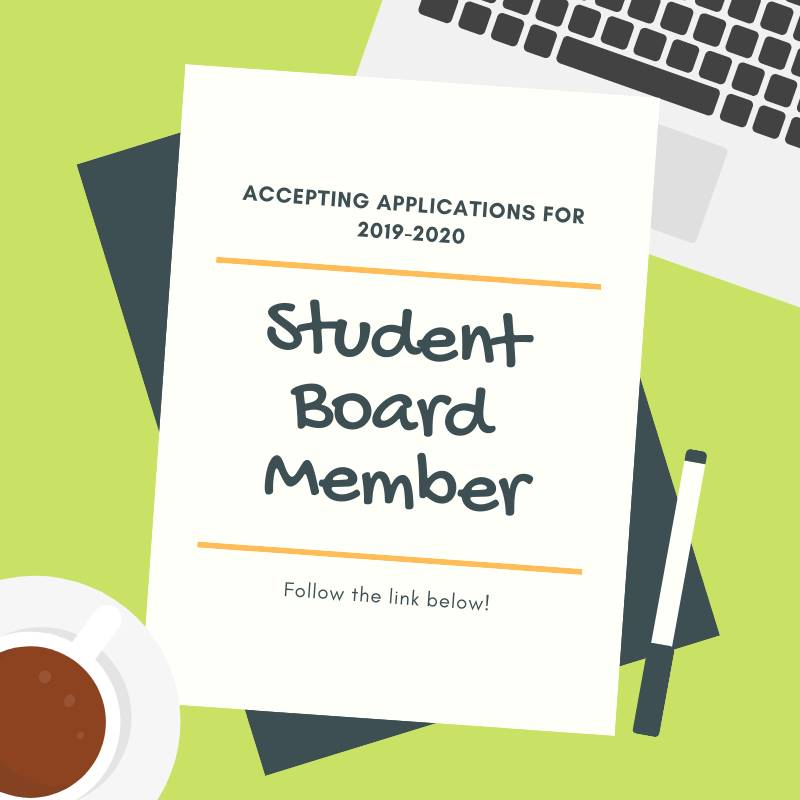 Student Board Member application