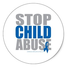 Stop Child Abuse Graphic Logo