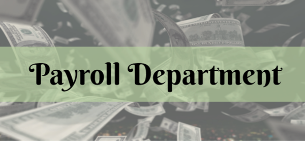 Payroll Department Graphic Logo