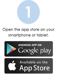 Google Play and App Store Graphic