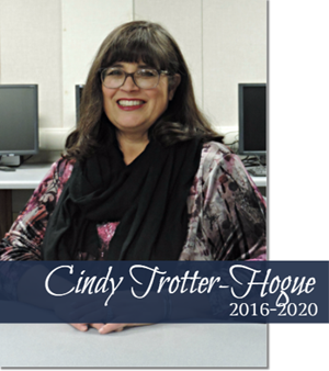 BOARD TRUSTEE  CINDY TROTTER-HOGUE