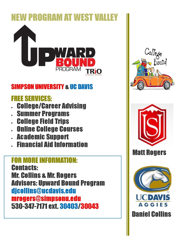 Upward Bound Info