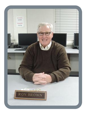 BOARD TRUSTEE RON BROWN
